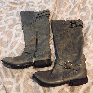 Just Fab Nya Stone Boots 8.5
